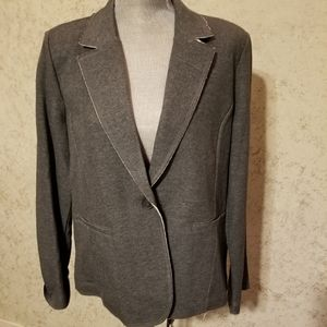 NWT Tommy Hilfiger grey blazer